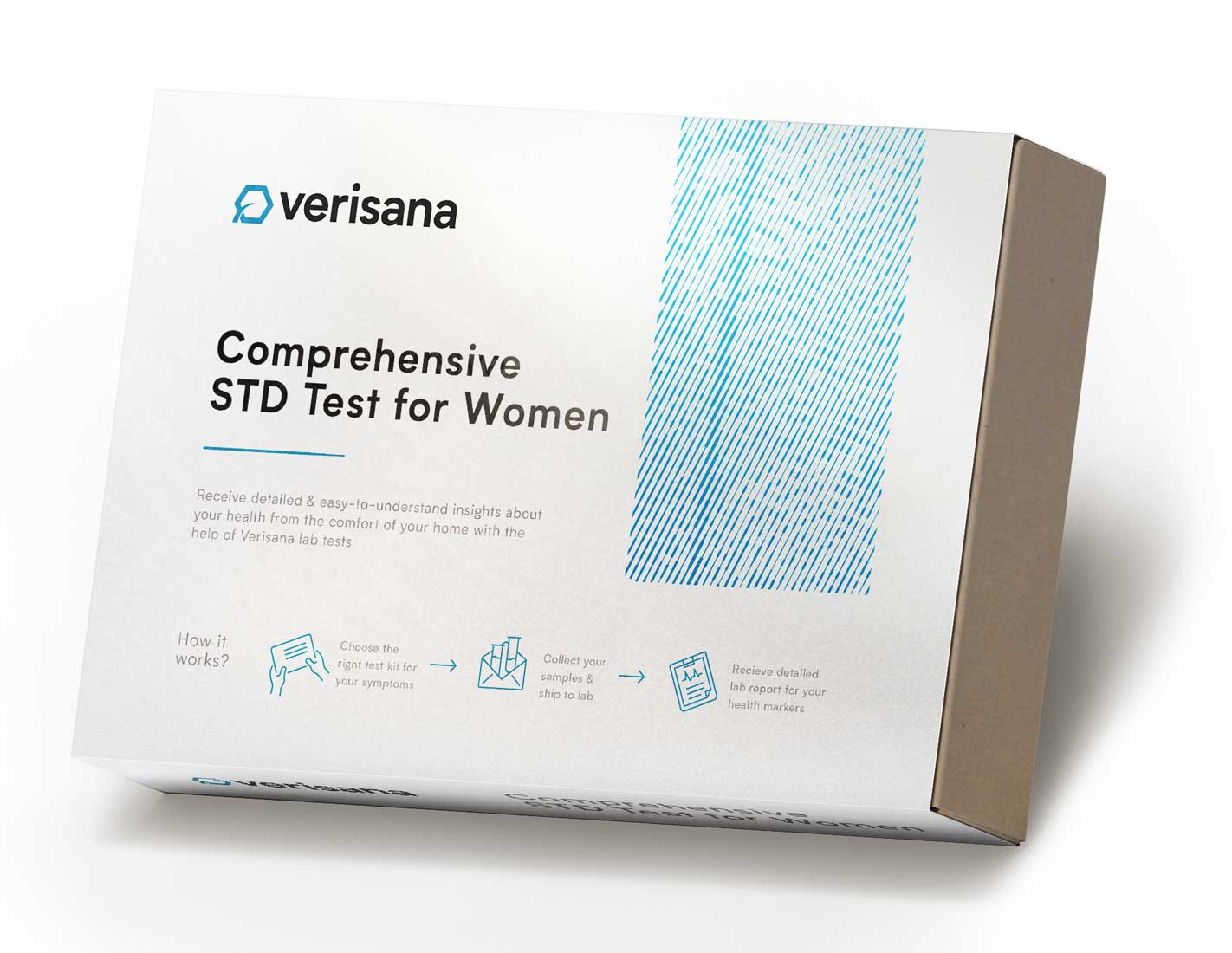 Comprehensive STD test for women test kit
